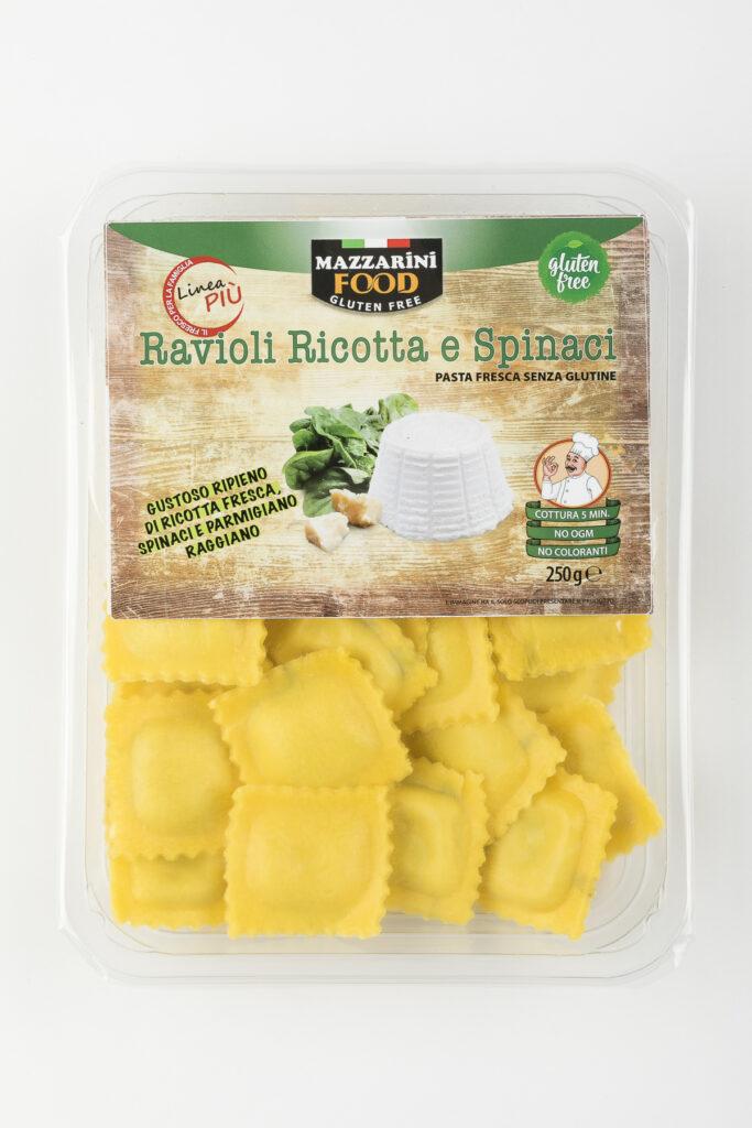 ravioli ricotta e spinaci senza glutine mazzarini