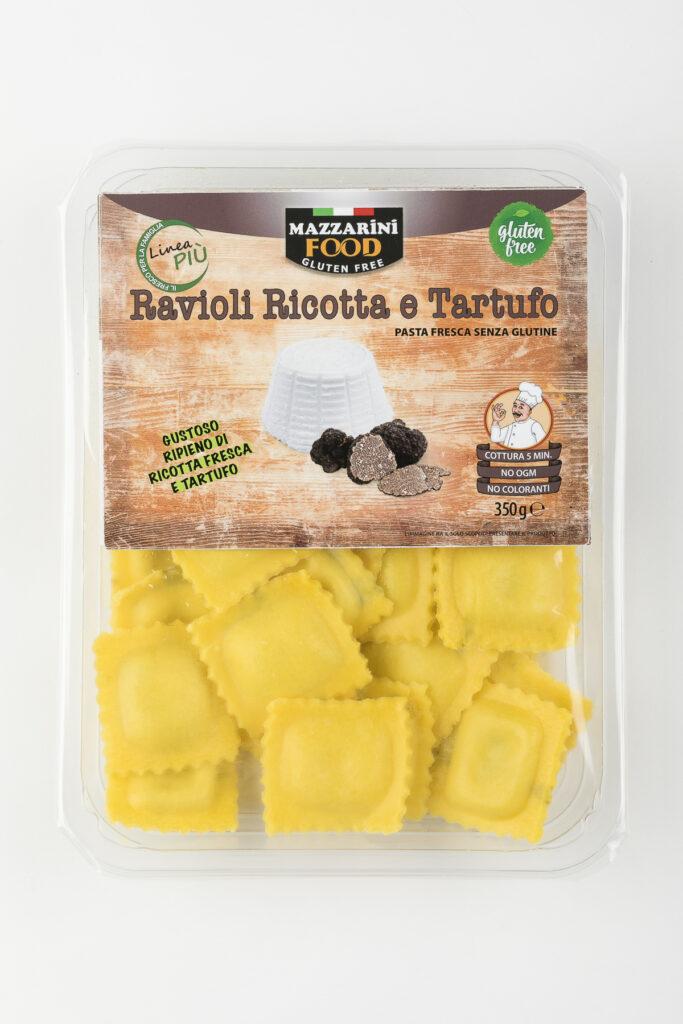 ravioli ricotta e tartufo senza glutine mazzarini