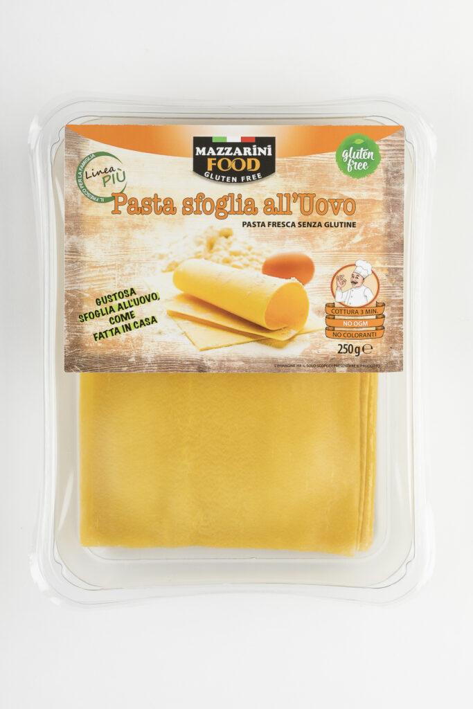 pasta sfoglia all'uovo senza glutine mazzarini